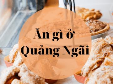 An gi o Quang Ngai