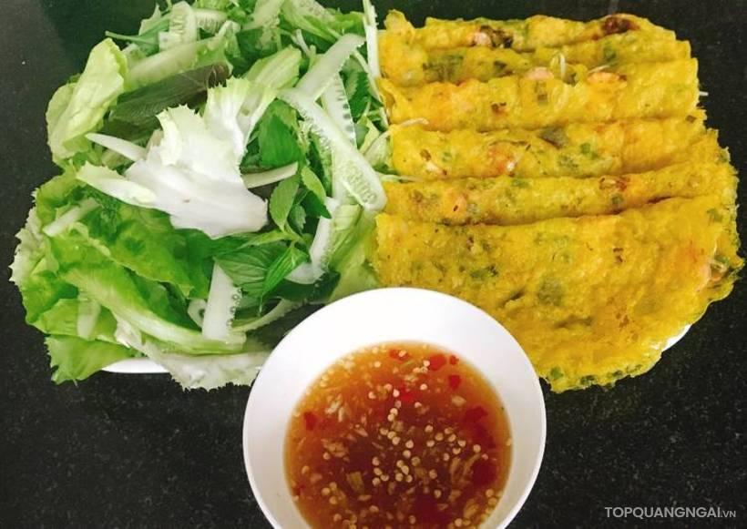 bánh xèo Quảng Ngãi