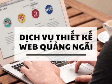 thiết kế web quảng ngãi