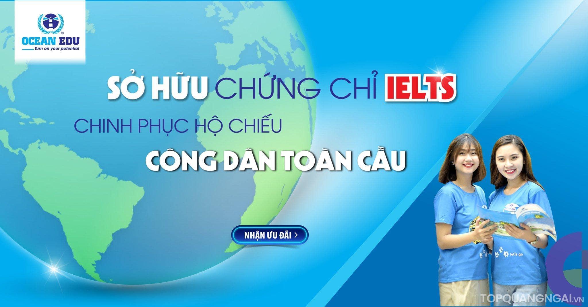 trung tâm luyện thi IELTS Quảng Ngãi
