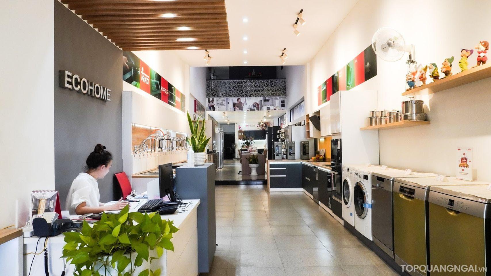 cửa hàng thiết bị nhà bếp ở Quảng Ngãi