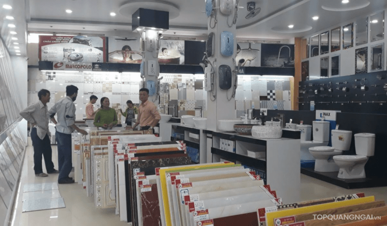 Top 3 cửa hàng bán gạch ốp lát Quảng Ngãi nhiều mẫu đẹp nhất