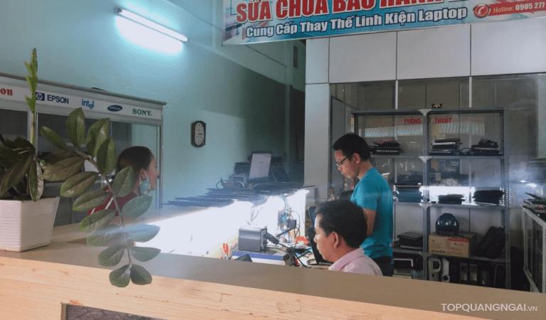 Top 3 trung tâm sửa chữa laptop, máy tính uy tín Quảng Ngãi