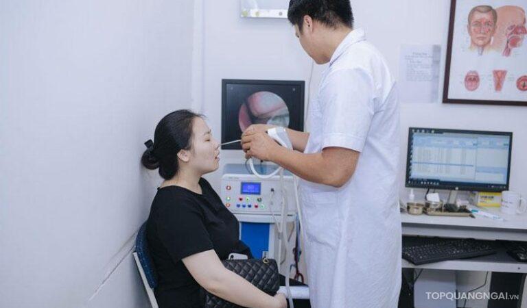 Top 4 phòng khám tai mũi họng Quảng Ngãi uy tín nhất