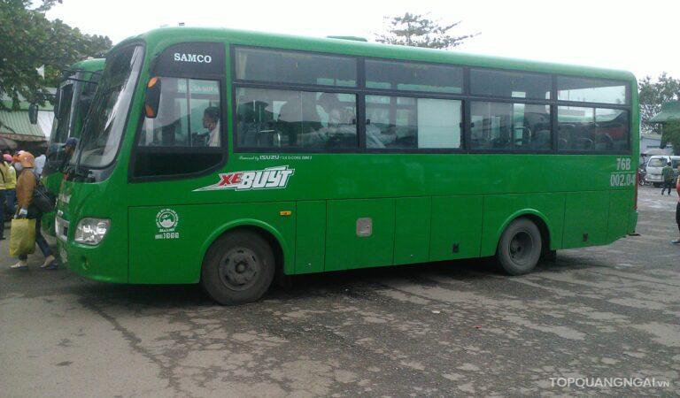 Lịch xe buýt Quảng Ngãi – Tịnh Kỳ: Cập nhật mới nhất 2021