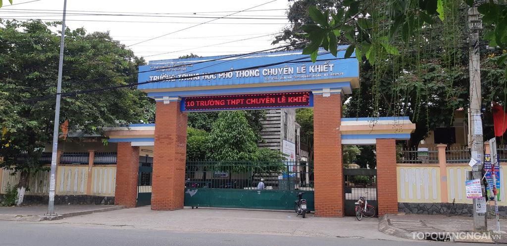 Top 6 Trường THPT hàng đầu Quảng Ngãi