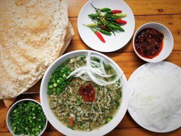 Cách nấu món don Quảng Ngãi