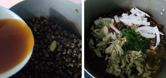 Cách nấu ốc hút Quảng Ngãi