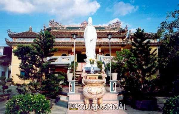 Ngôi chùa lớn ở Quảng Ngãi