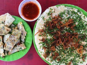 bánh tráng mắm ruốc Quảng Ngãi