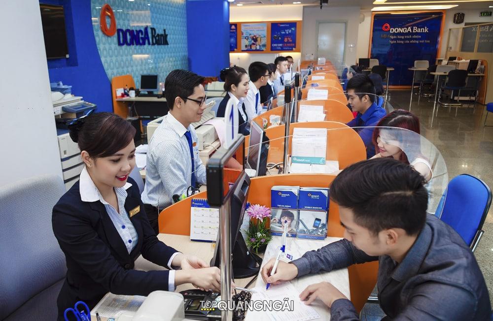 Tổng hợp danh sách các ngân hàng ở Quảng Ngãi