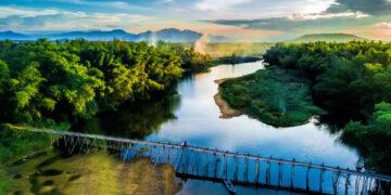 canh dep quang ngai nhin tu tren cao Cau Tre Xom Lan Quang Ngai VnExpress 1562727563 VnEx