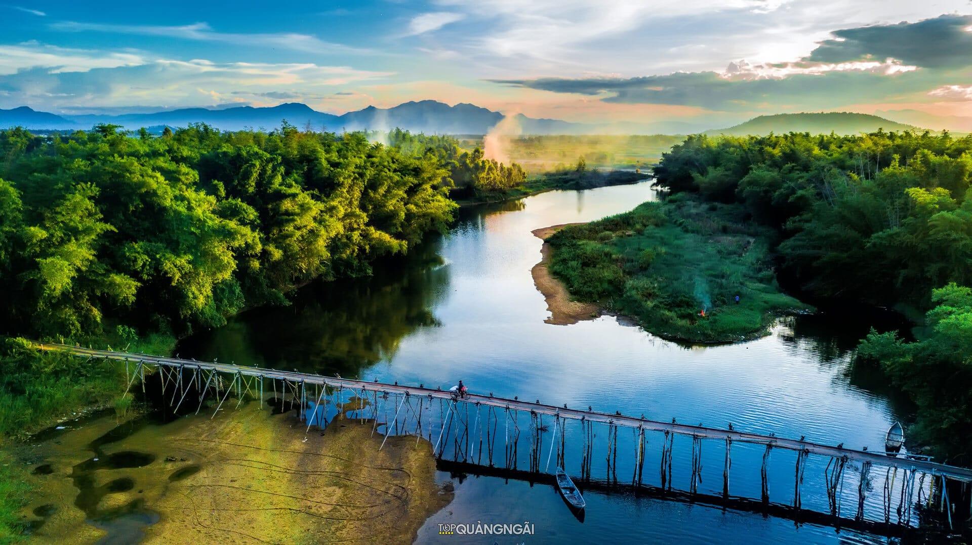 Bộ sưu tập cảnh đẹp Quảng Ngãi nhìn từ trên cao